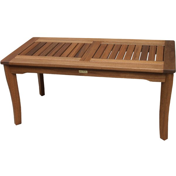 Moana Wooden Coffee Table by Beachcrest Home