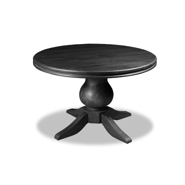 Beacham Solid Wood Dining Table by Alcott Hill Alcott Hill
