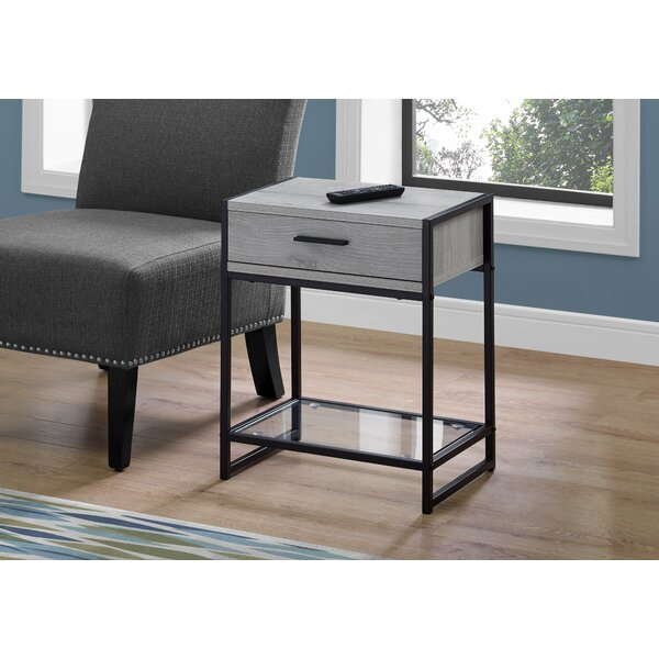 Hammons End Table with Storage by Wrought Studio Wrought Studio™