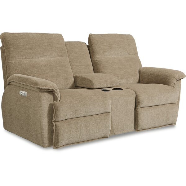 Top Offers Jay La-Z-Time Power-Recline with Power Headrest Loveseat by La-Z-Boy by La-Z-Boy
