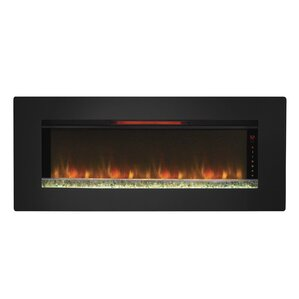 Wall Hanging Electric Fireplace wall mounted fireplaces you'll love | wayfair