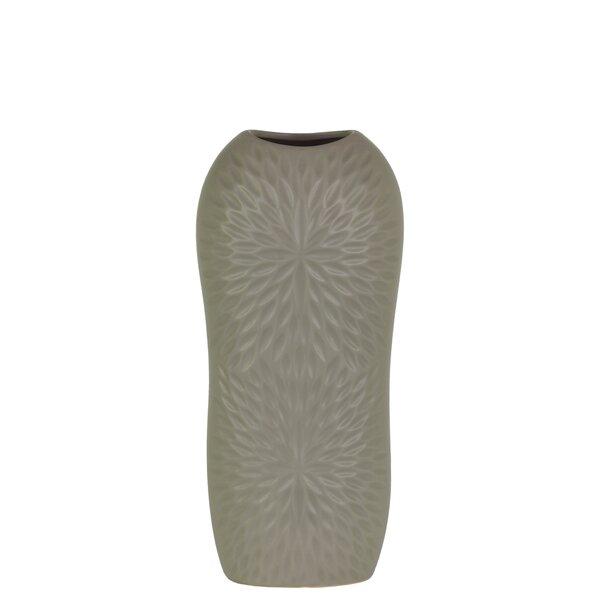 Peck Ceramic Floor Vase by Orren Ellis