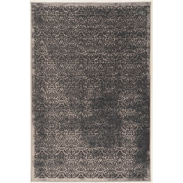 Coeur Beige/Gray Area Rug by Charlton Home