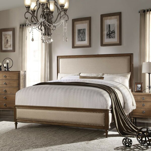 Prestridge Upholstered Standard Bed by One Allium Way