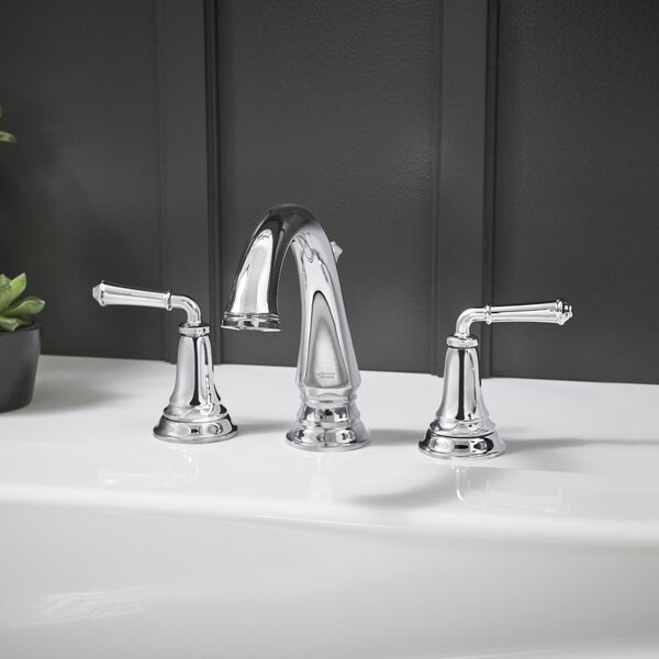 Delancey Double Handle Deck Mounted Roman Tub Faucet Trim By American Standard