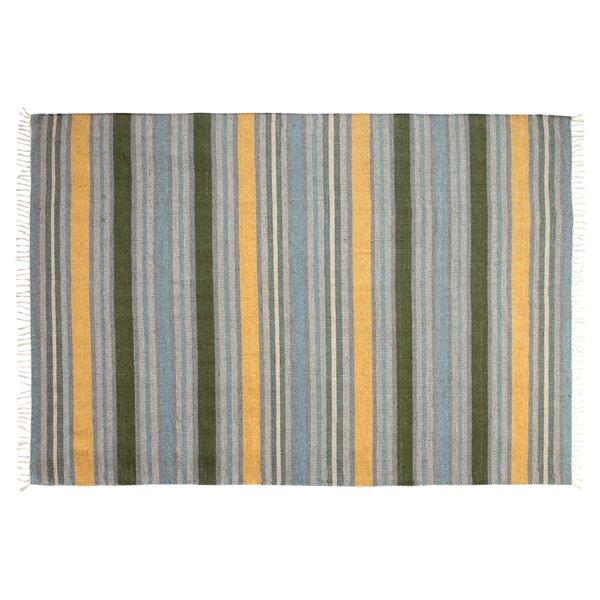Lori Blue/Yellow Hand-Woven Area Rug by Chesapeake Merchandising Inc.