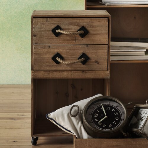 Nachttisch Bordeaux Laurel Foundry | Schlafzimmer > Nachttische | Holz | Laurel Foundry