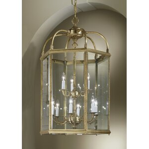 European 9-Light Outdoor Pendant