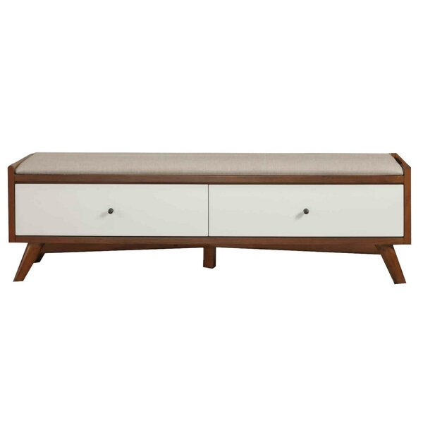 Adel Upholstered Drawer Storage Bench