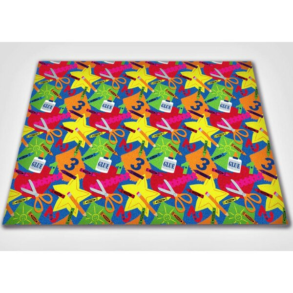 Arts and Crafts Area Rug by Kid Carpet