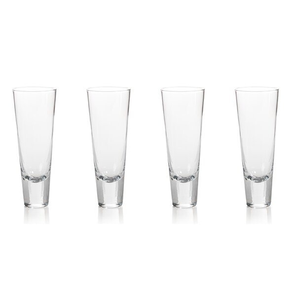 Anatole Tapered 10 oz. Snifter/Liqueur Glasses (Set of 4) by Zodax