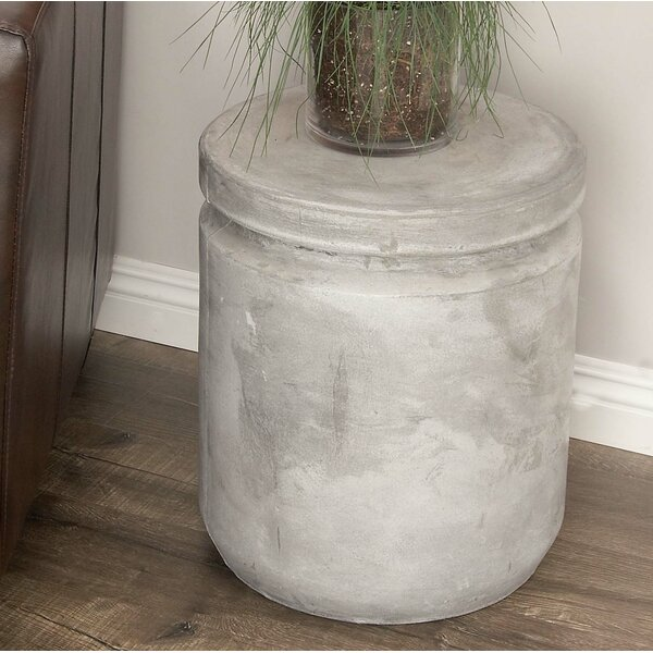Hitchens Fiberclay Foot Accent Stool by Williston Forge