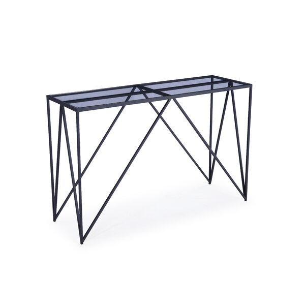 Timmie Metal Console Table By Brayden Studio