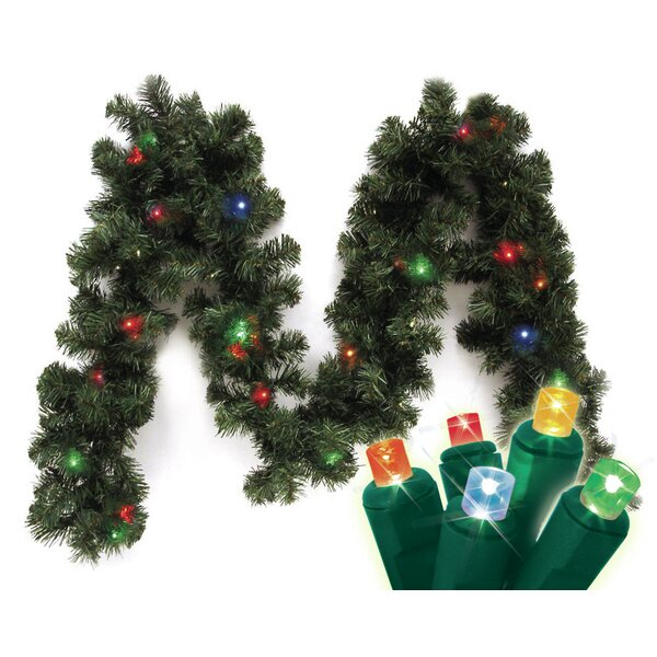 Micro Mini Canadian Pine Branch Garland by Brite Star