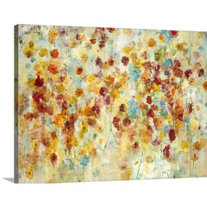 'Tuileries' by Jill Martin Painting Print on Wrapped Canvas by Great Big Canvas