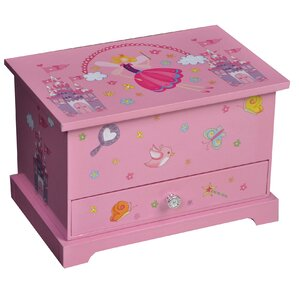 Traditional Girl's Musical Ballerina Jewelry Box by Zoomie Kids