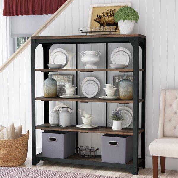Gillan Open Standard Curio Cabinet by Gracie Oaks