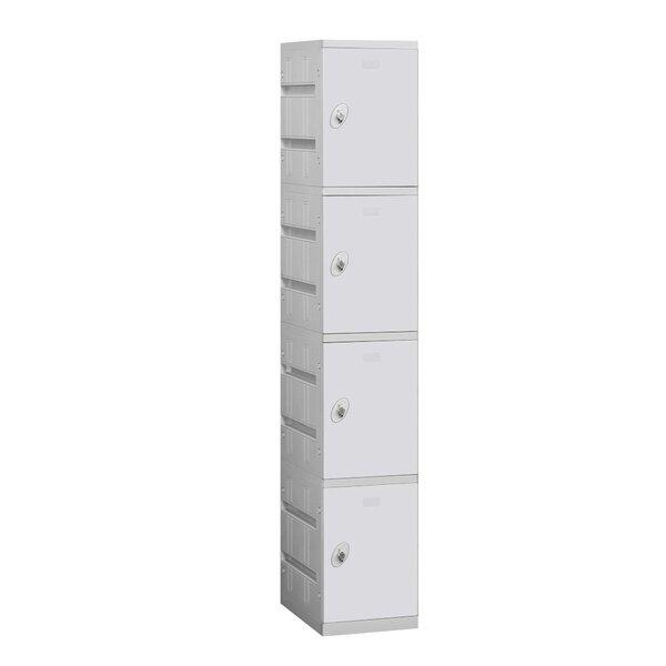 4 Tier 1 Wide Employee locker by Salsbury Industries