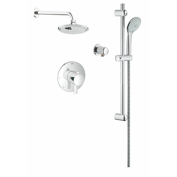 Cosmopolitan Dual Shower Head Complete Shower System by Grohe