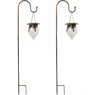 Find for Starkville Rain Drop 2 Piece Landscape Hanging Lantern Set (Set of 2) By Charlton Home
