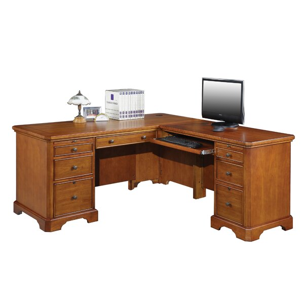 Chester L-Shape Computer Desk by Alcott Hill