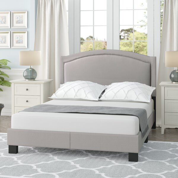 Carrollton Queen Upholstered Standard Bed by Charlton Home