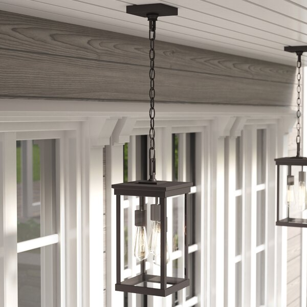 Mccombs 3-Light Outdoor Hanging Lantern by Three Posts
