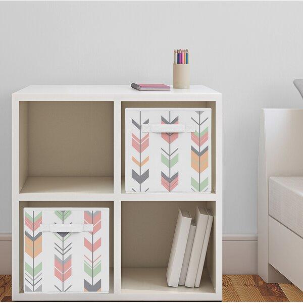 Arrow Fabric Storage Cube by Sweet Jojo Designs