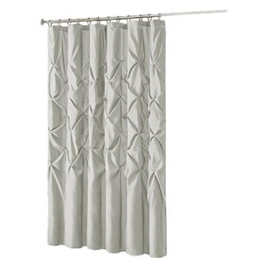 chocolate coral and gold shower curtain. Benjamin Shower Curtain Gray  Silver Curtains You ll Love Wayfair
