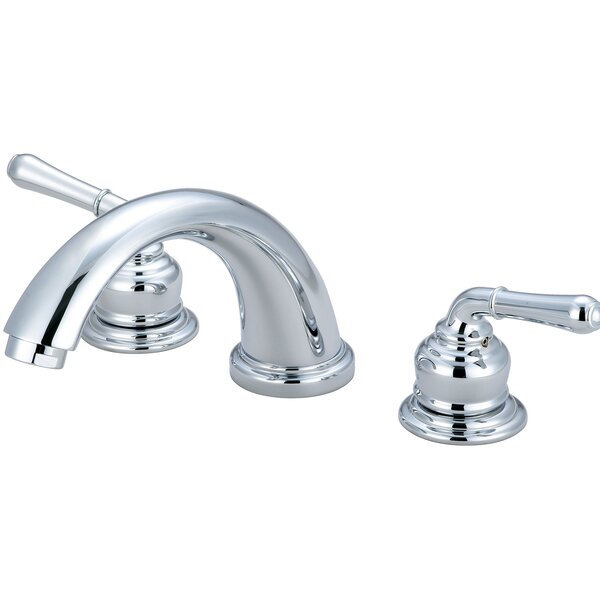 Double Handle Deck Mounted Tub Trim Set by Olympia Faucets