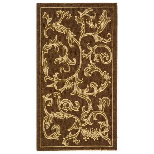 Herefordshire Brown/Natural Indoor/Outdoor Area Rug by Winston Porter