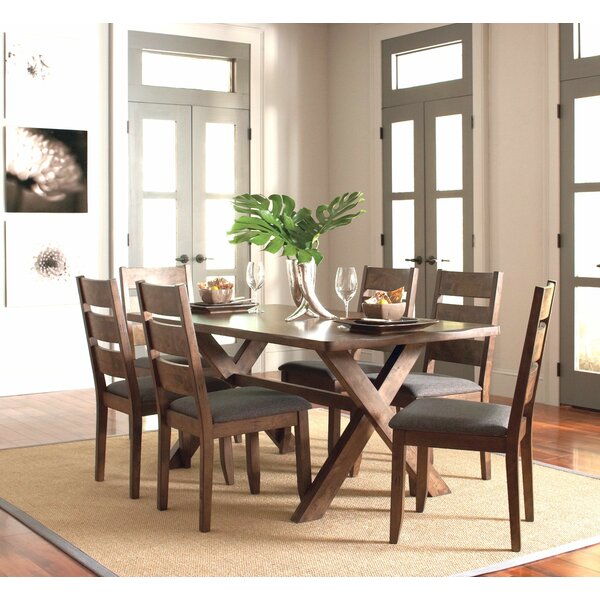 Gebhardt 7 Piece Dining Set by Gracie Oaks