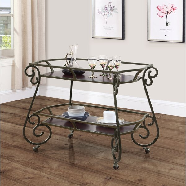 Lily Serving Bar Cart by Fleur De Lis Living