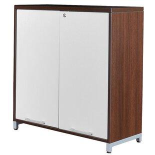 Maverick 2 Door Wood Storage Cabinet  sc 1 st  Wayfair & Small Wood Storage Cabinet | Wayfair