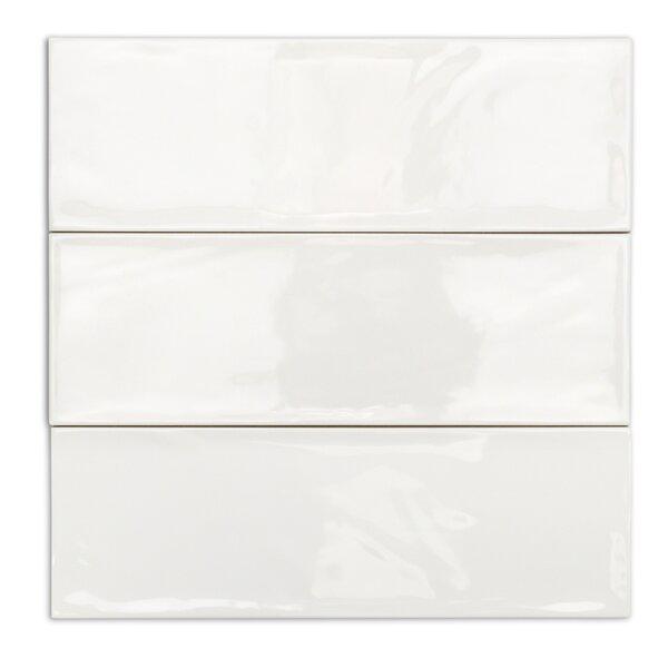 Pier 4 x 12 Ceramic Subway Tile in White by Splashback Tile
