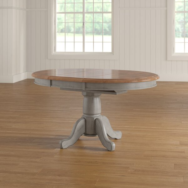 Wonderly Pedestal Extendable Dining Table by August Grove