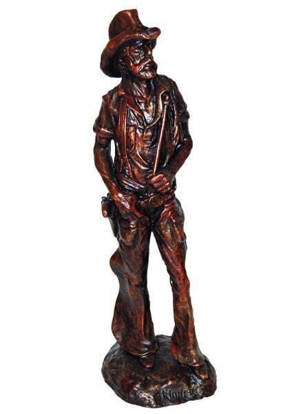 Old West Cowboy Figurine by Craft-Tex