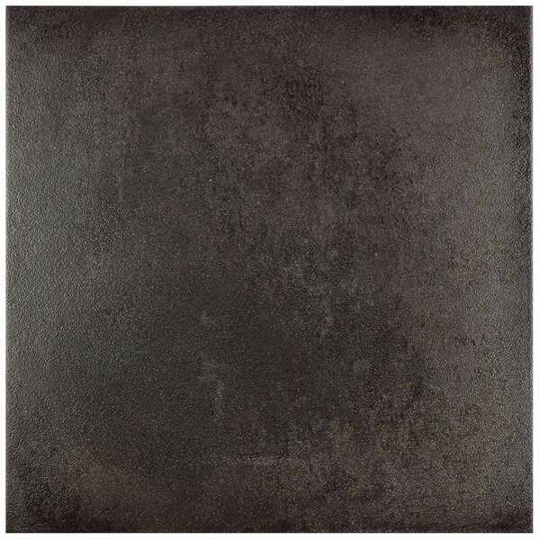 Symbals 14.13 x 14.13 Porcelain Field Tile in Black by EliteTile