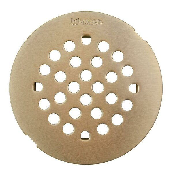 Kingsley Grid Shower Drain by Moen