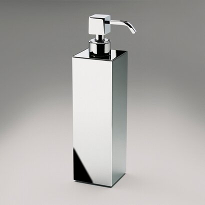 Tall Square Brass Countertop Soap Dispenser by Windisch by Nameeks