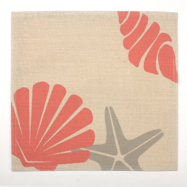 Sand Dunes South Beach Laminate Jute Placemat by Homewear Linens