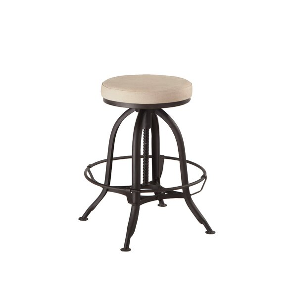 Adjustable Height Bar Stool by World Interiors