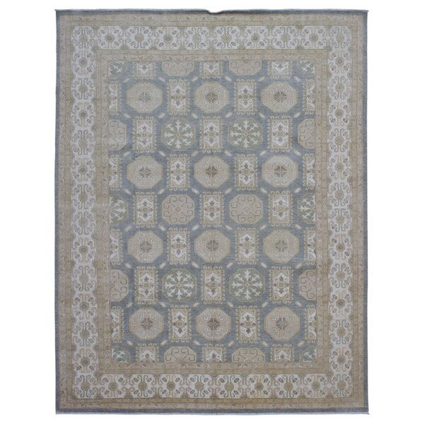 One-of-a-Kind Ardith Hand Hand-Knotted Wool Beige Area Rug by Darby Home Co