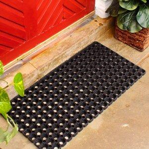 Hollow Rubber Doormat