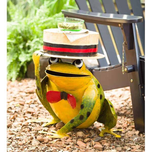 Frog Metal Side Table by Plow & Hearth
