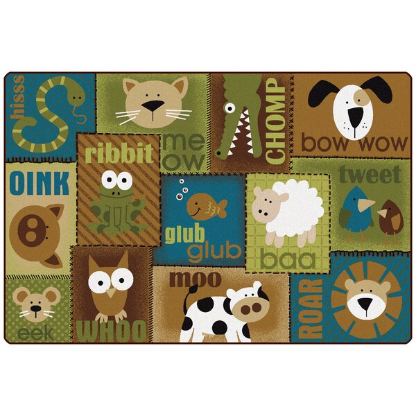 Animal Sounds Kids Rug by Carpets for Kids