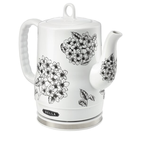 Floral 1.27 Qt Electric Tea Kettle by Sensio