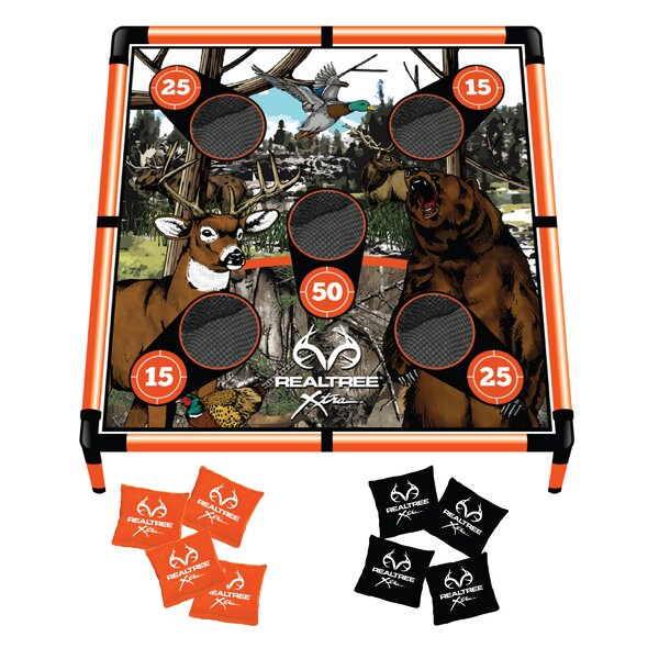 Realtree 5 Hole Bean Bag Toss by Triumph Sports USA