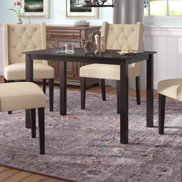 Douglas Solid Wood Dining Table by Winston Porter