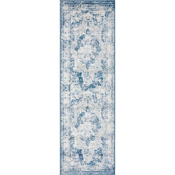Brandt Tibetan Blue Area Rug by Mistana